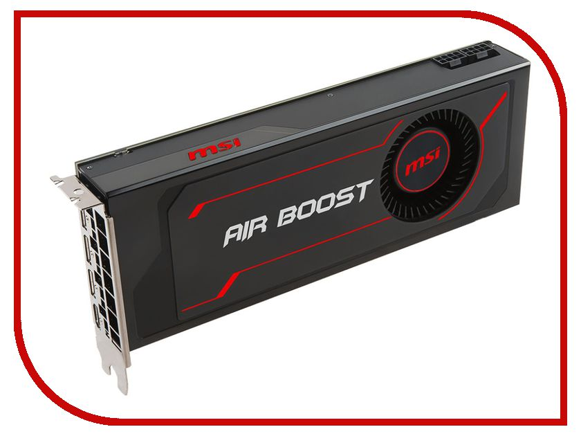 Видеокарта MSI Radeon RX Vega 56 Air Boost 8G OC 1181Mhz PCI-E 3.0 8192Mb 800Mhz 2048 bit HDMI HDCP RX VEGA 56 AIR BOOST 8G OC