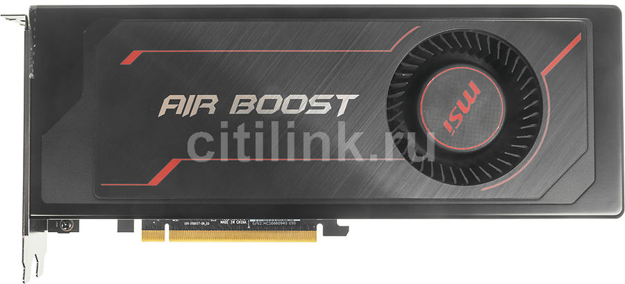 Видеокарта MSI AMD Radeon RX Vega 56 , Radeon RX Vega 56 Air Boost 8G OC, 8Гб, HBM2, OC, Ret